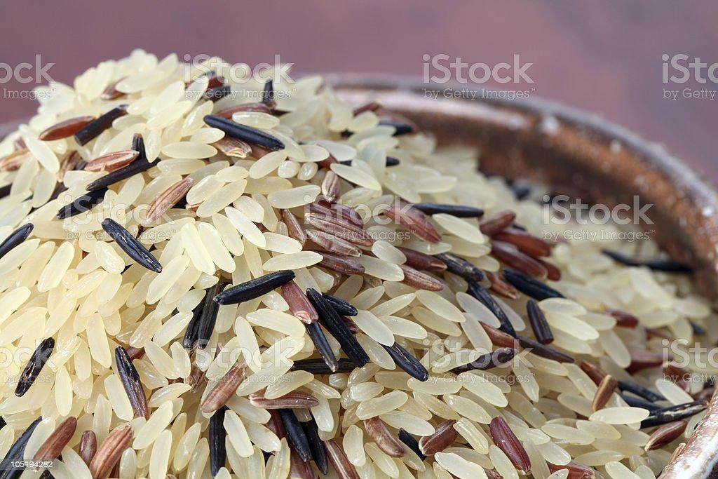Mixed rice royalty-free stock photo