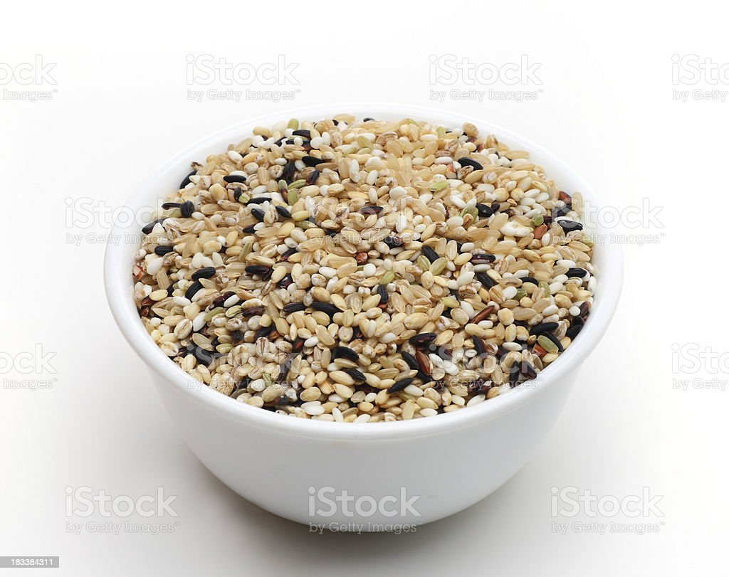 Mixed Rice royalty-free stock photo
