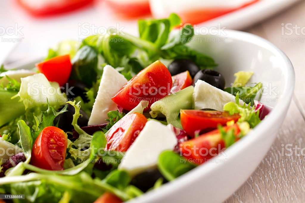 Mixed Salad stock photo