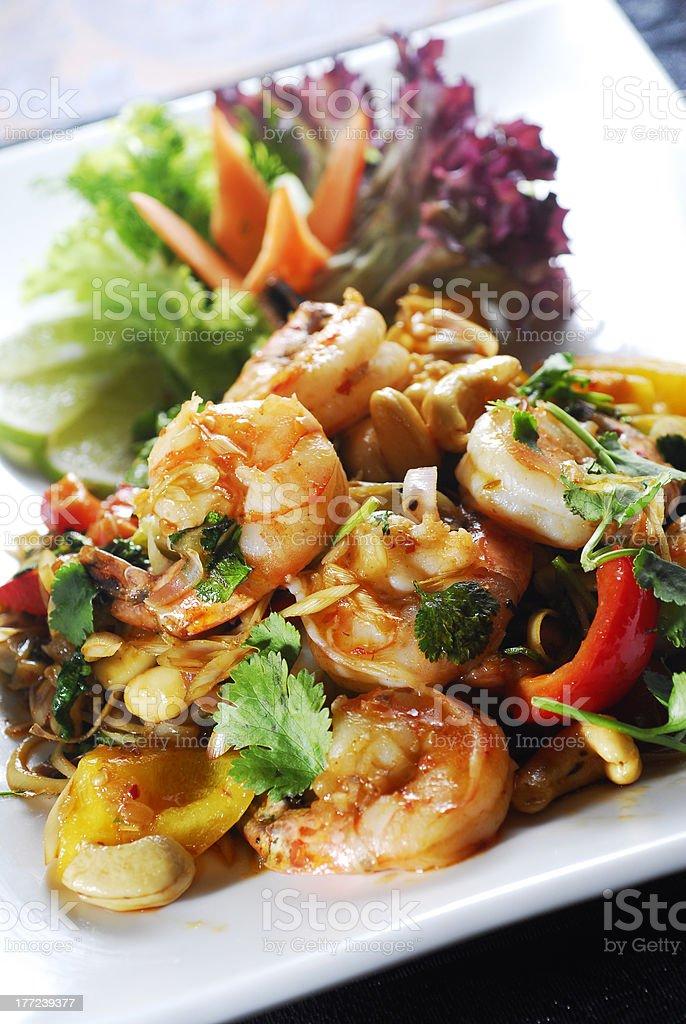 mixed salad royalty-free stock photo