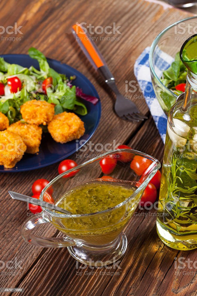 Mixed salad. royalty-free stock photo