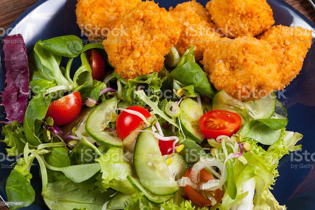 Mixed salad. royalty-free stock photo