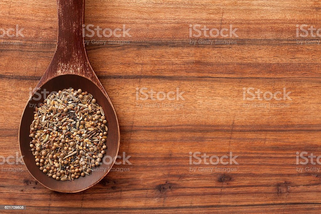 Mixed seeds stock photo