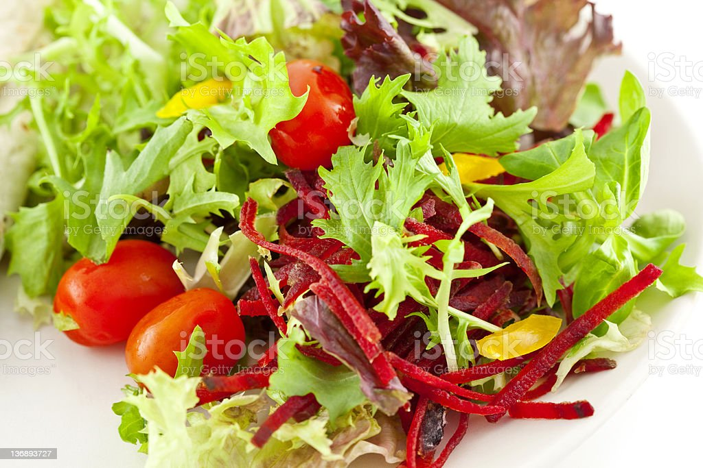 Mixed Side Salad royalty-free stock photo