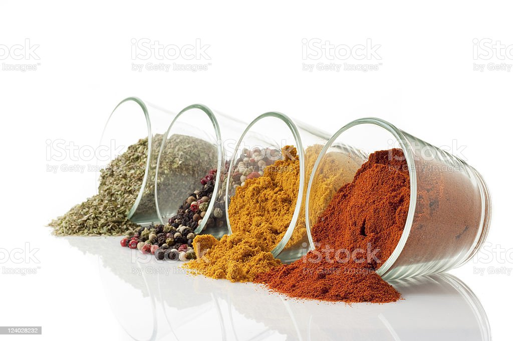 mixed spice royalty-free stock photo