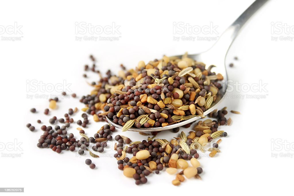 Mixed Spices stock photo