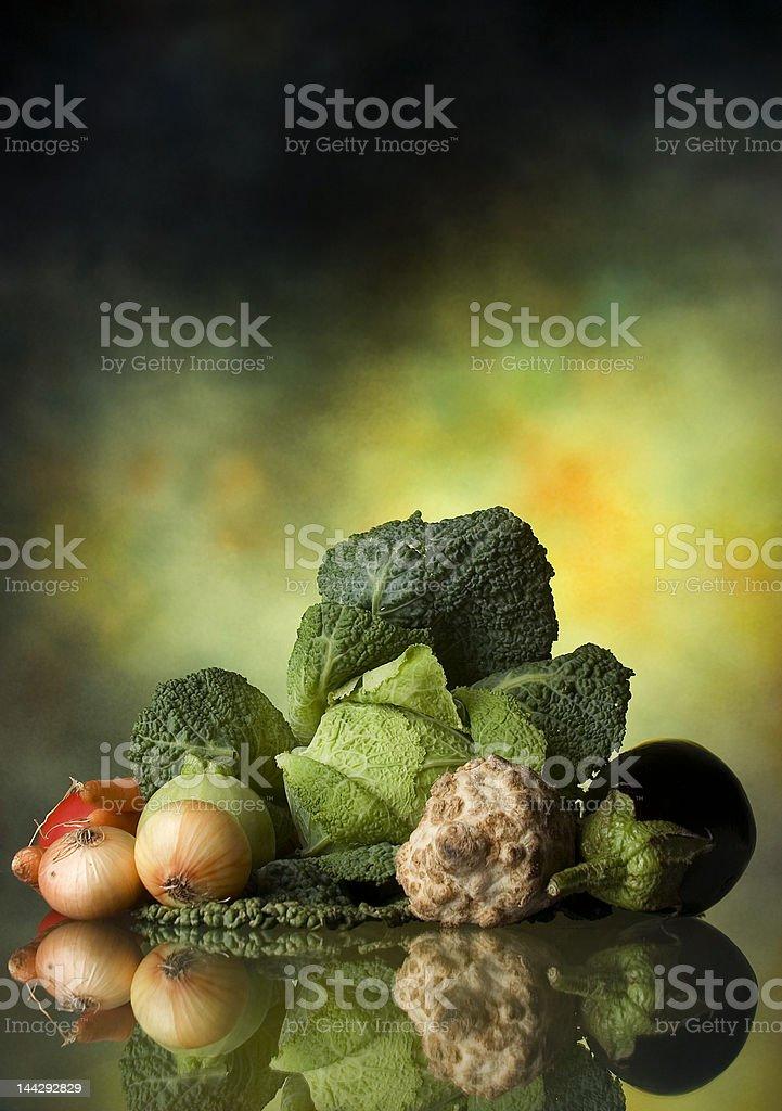Mixed vegetable stock photo