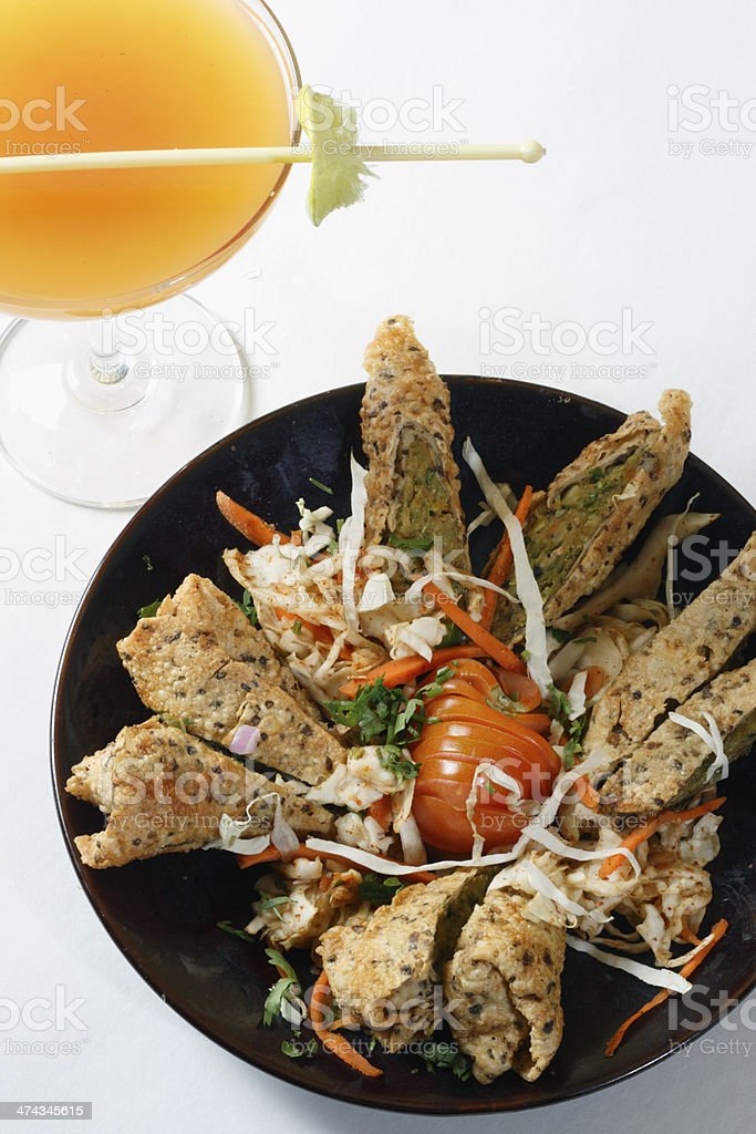 Mixed Vegetable Snack. royalty-free stock photo