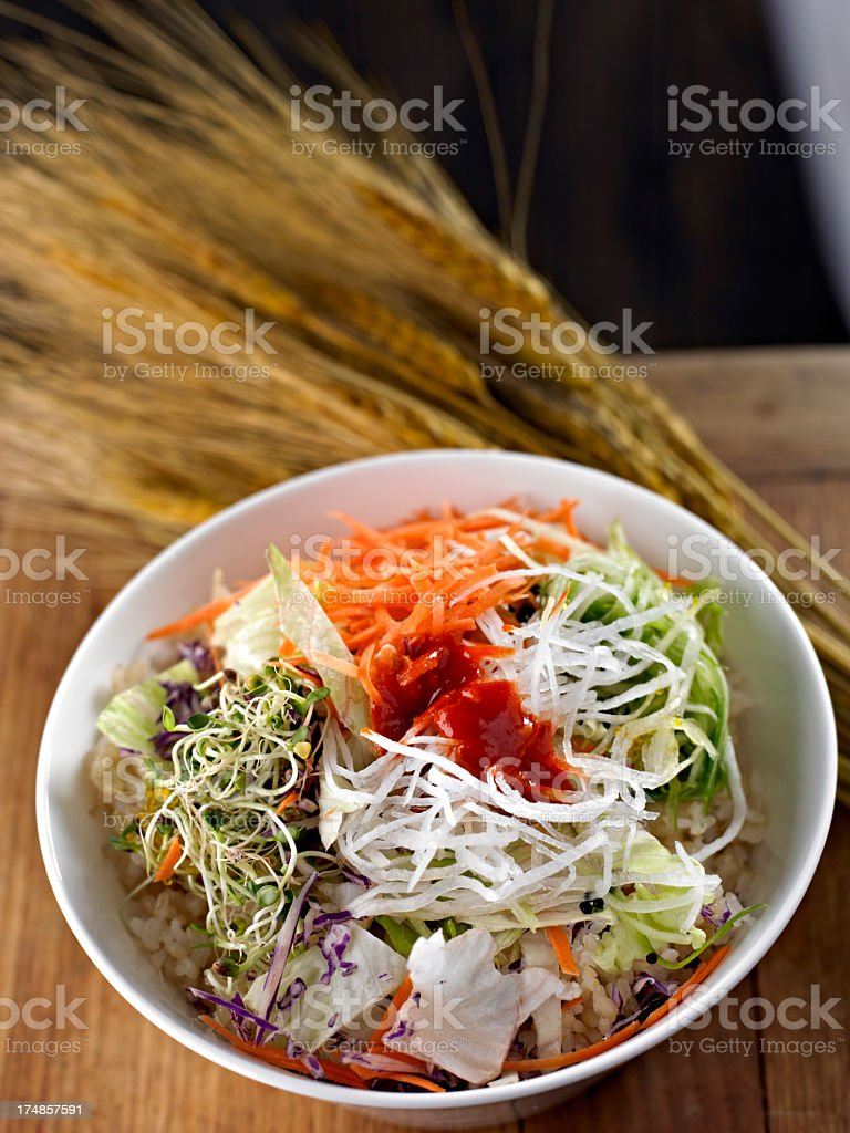 Mixed Vegetagle royalty-free stock photo