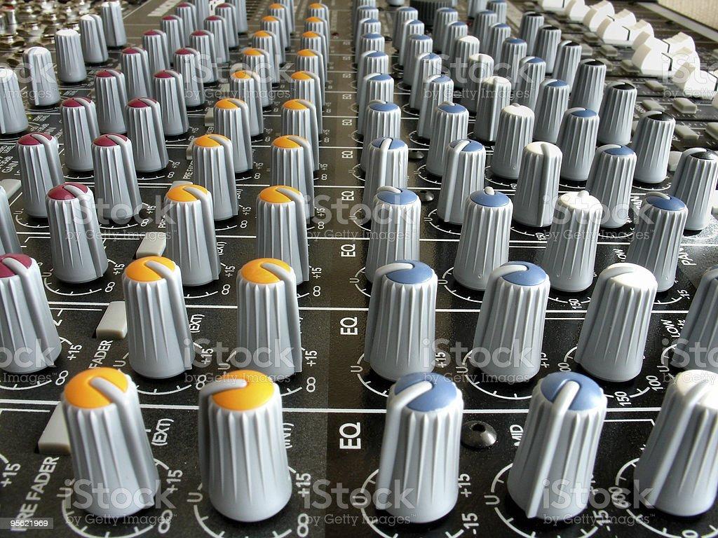 mixer 4 royalty-free stock photo
