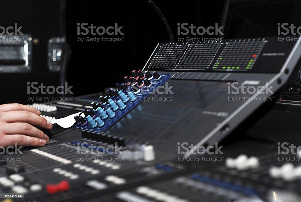 mixer stock photo