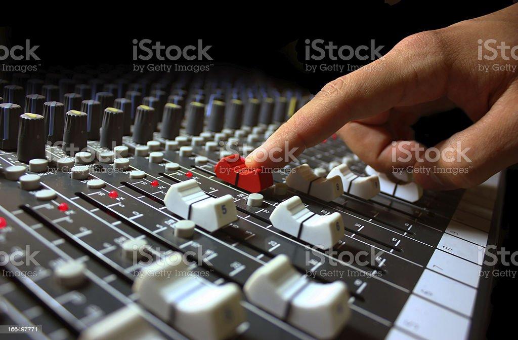 mixer royalty-free stock photo