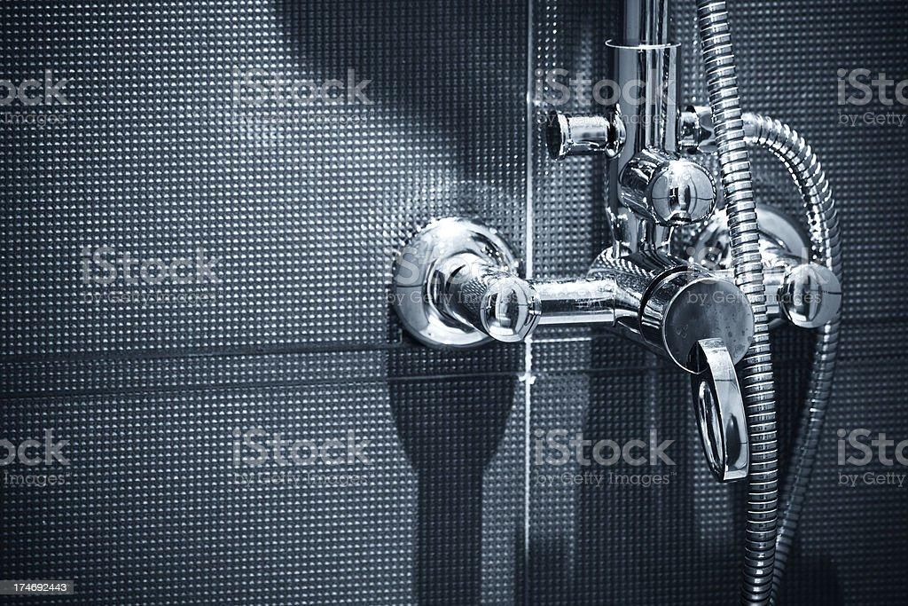 Mixer tap stock photo
