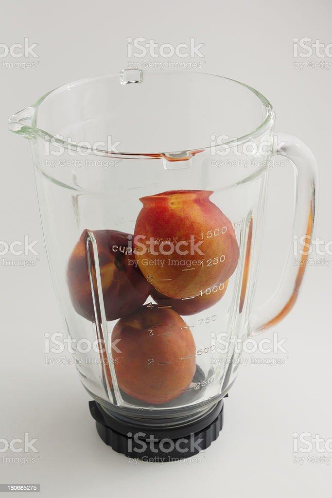 mixing fruit royalty-free stock photo