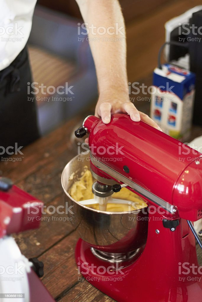 Mixing ingredients for the perfect result royalty-free stock photo