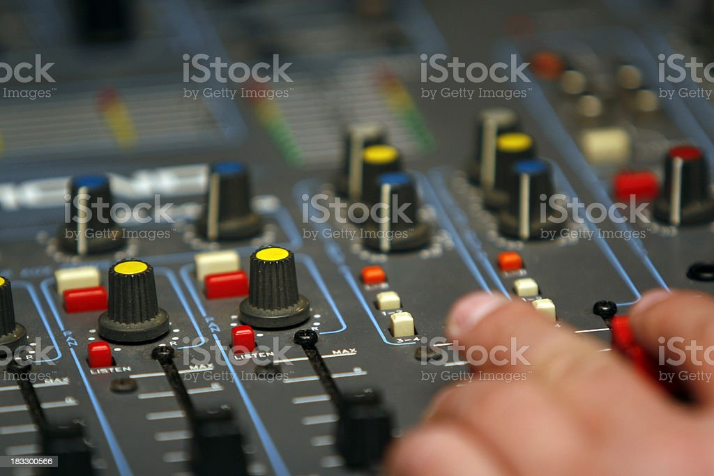 mixing it up royalty-free stock photo