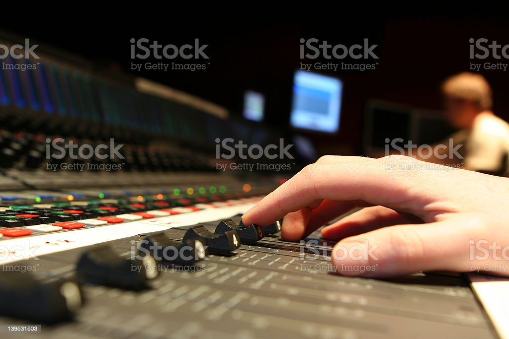 Mixing! royalty-free stock photo