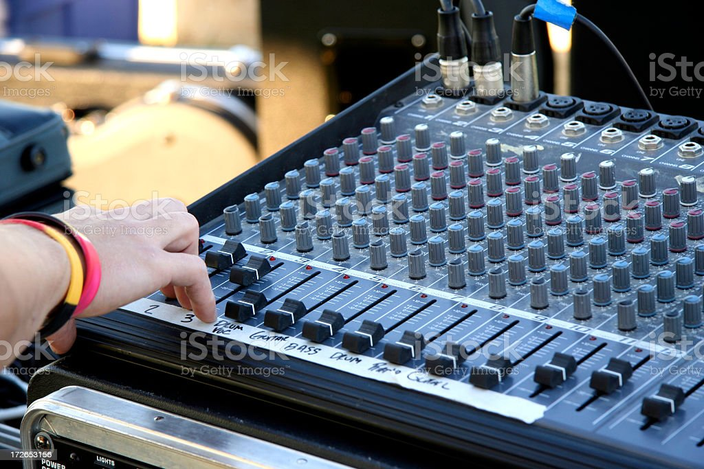 Mixing Time!!!! royalty-free stock photo