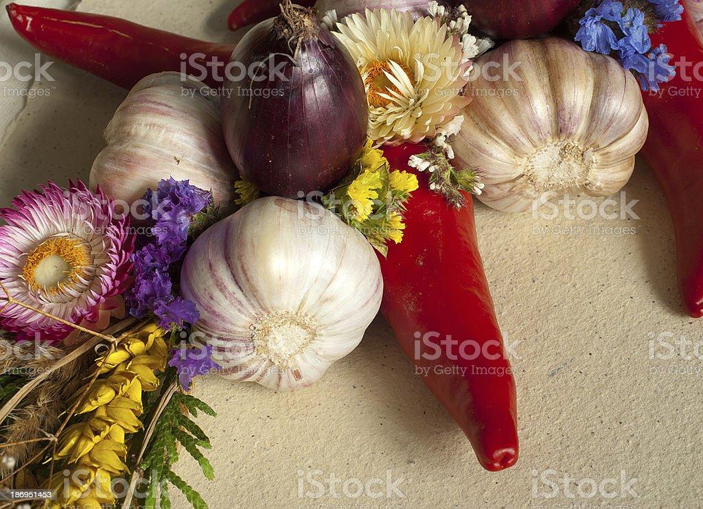 Mezcla de verduras foto de stock libre de derechos