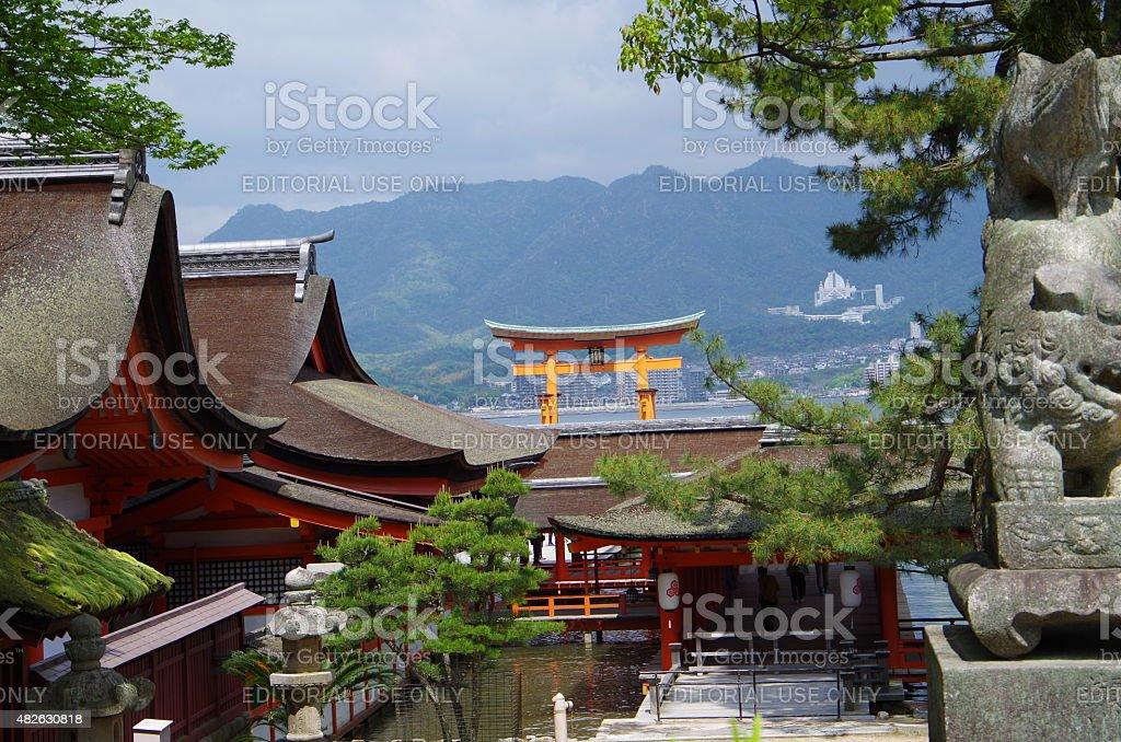 HIROSHIMA, Miyajima foto de stock libre de derechos