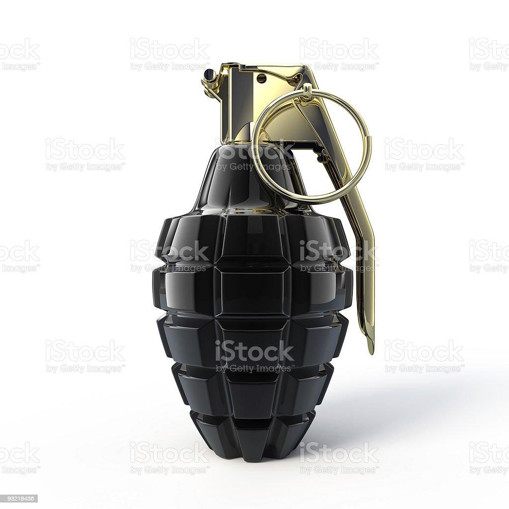 Mk-2 hand grenade stock photo