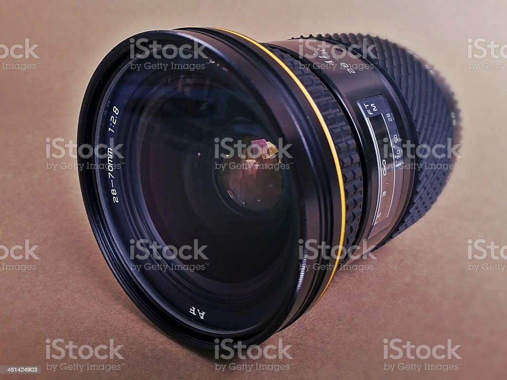 28-70 mm Camera Lens stock photo