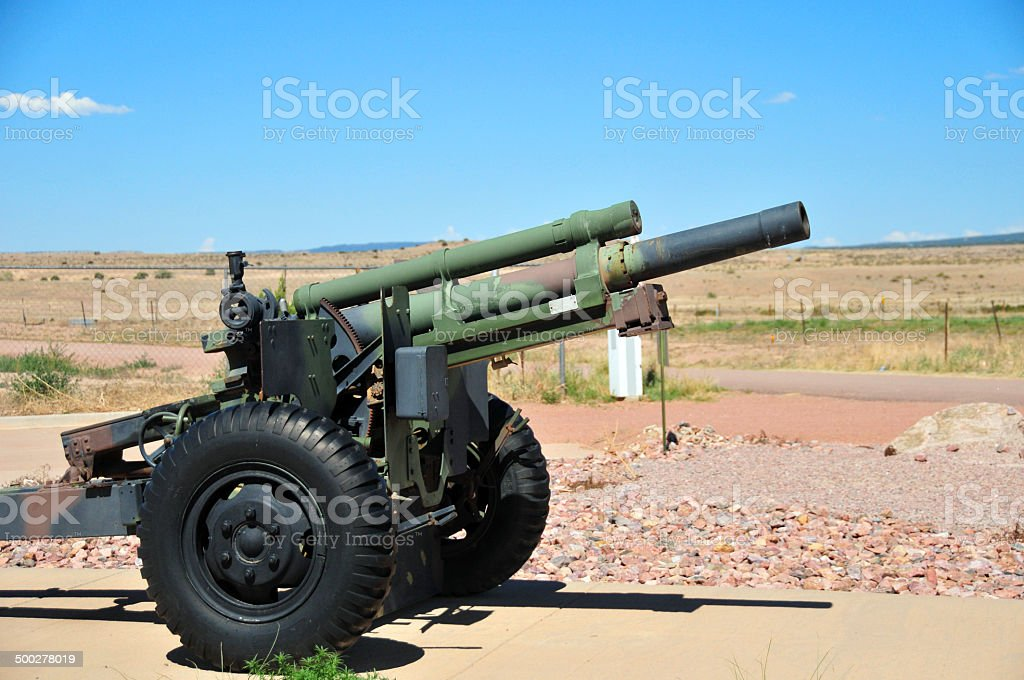 105 mm Howitzer (M2A2) stock photo