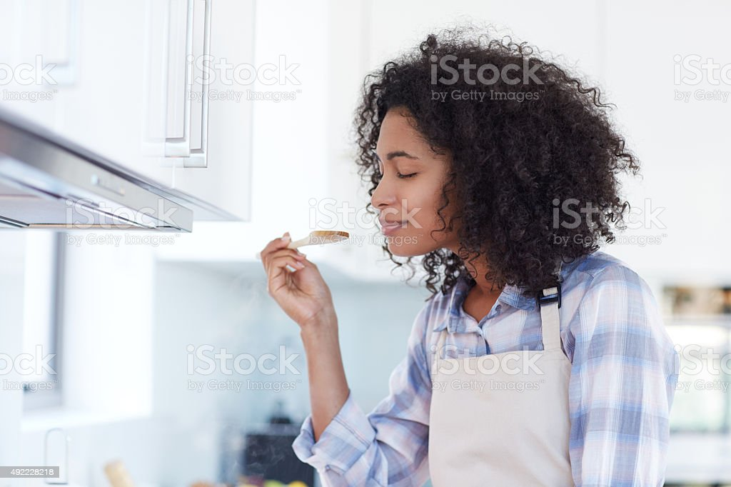 Mmm... smells divine! stock photo