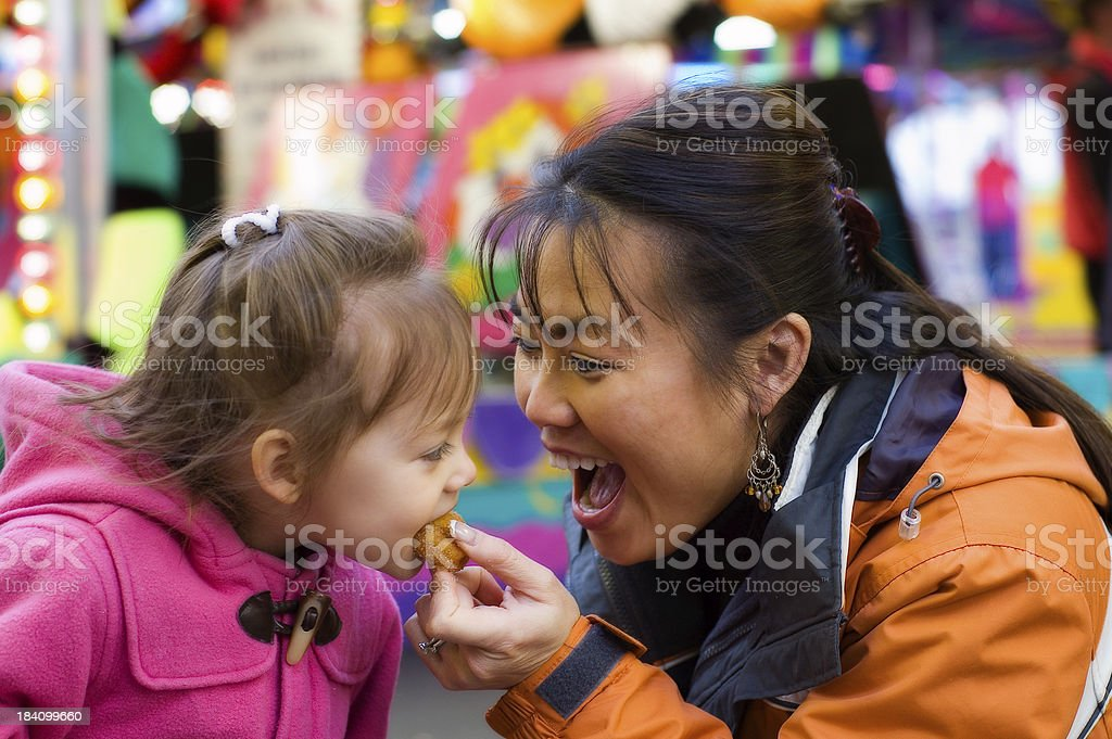 Mmm, Those Little Donuts royalty-free stock photo