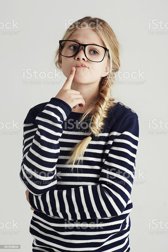 Mmm, what to do next... stock photo