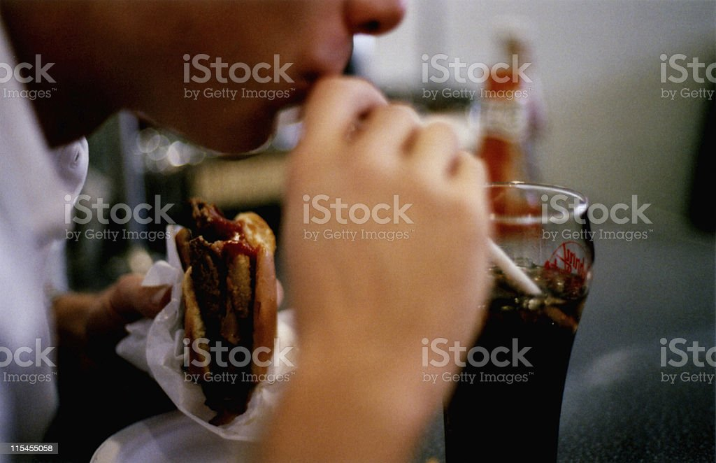 Mmmm.  Lunch. royalty-free stock photo