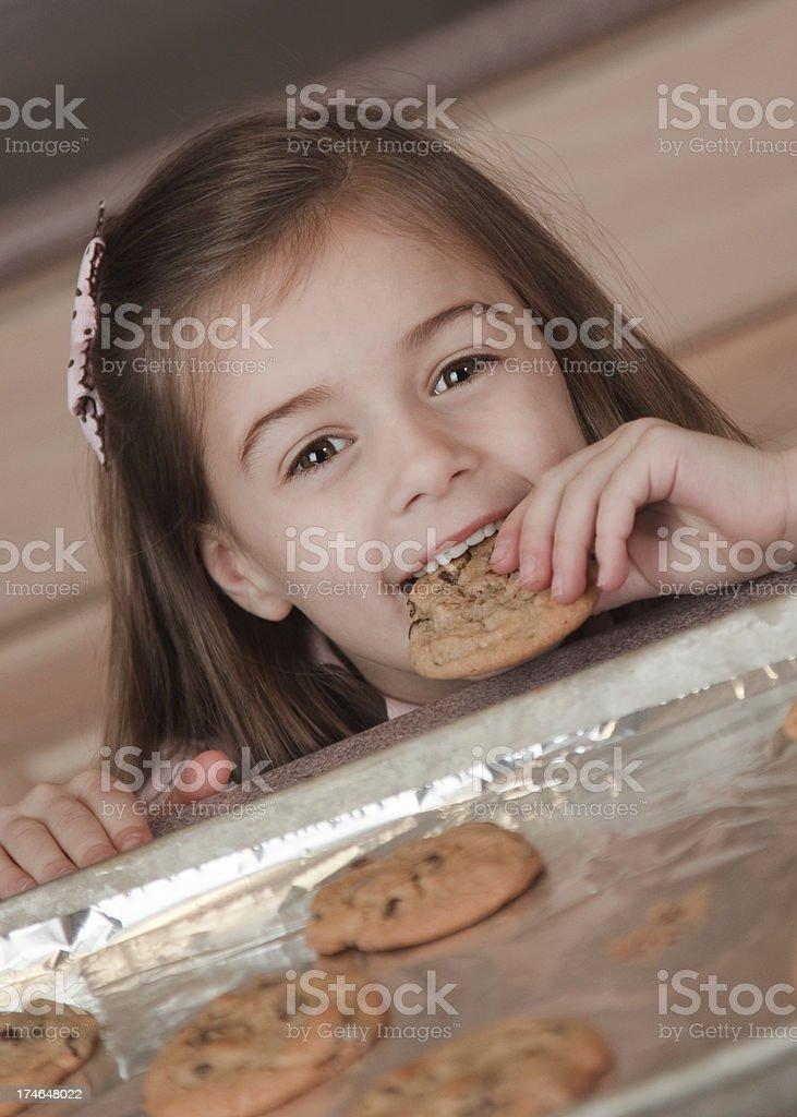 Mmmm...Fresh Baked Cookies stock photo