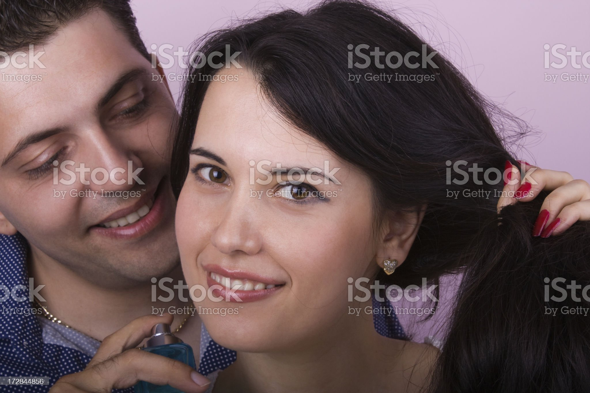 Mmmm..Perfume! Try this ... royalty-free stock photo