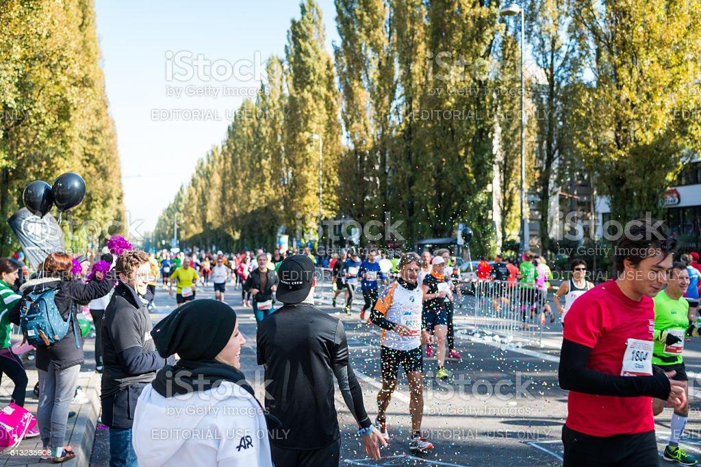 München Marathon 9. Oktober 2016 stock photo