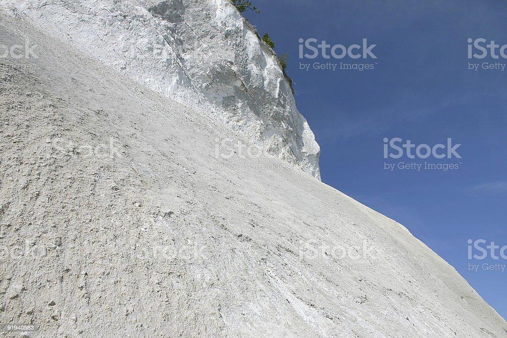 Møns Klint cliffs stock photo