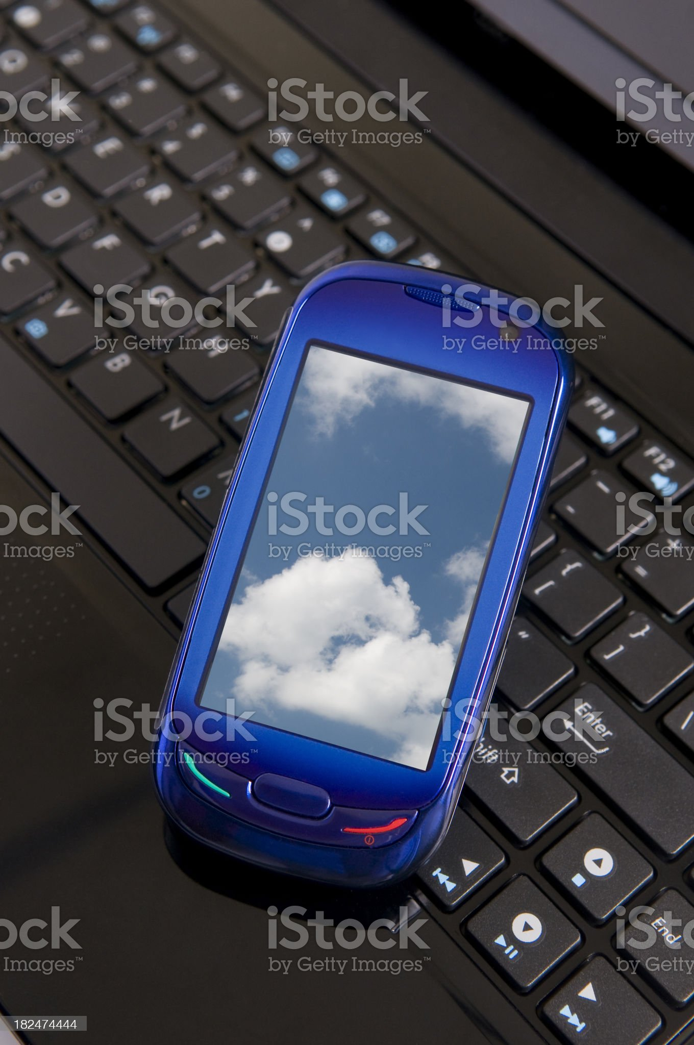 Mobil Phone royalty-free stock photo