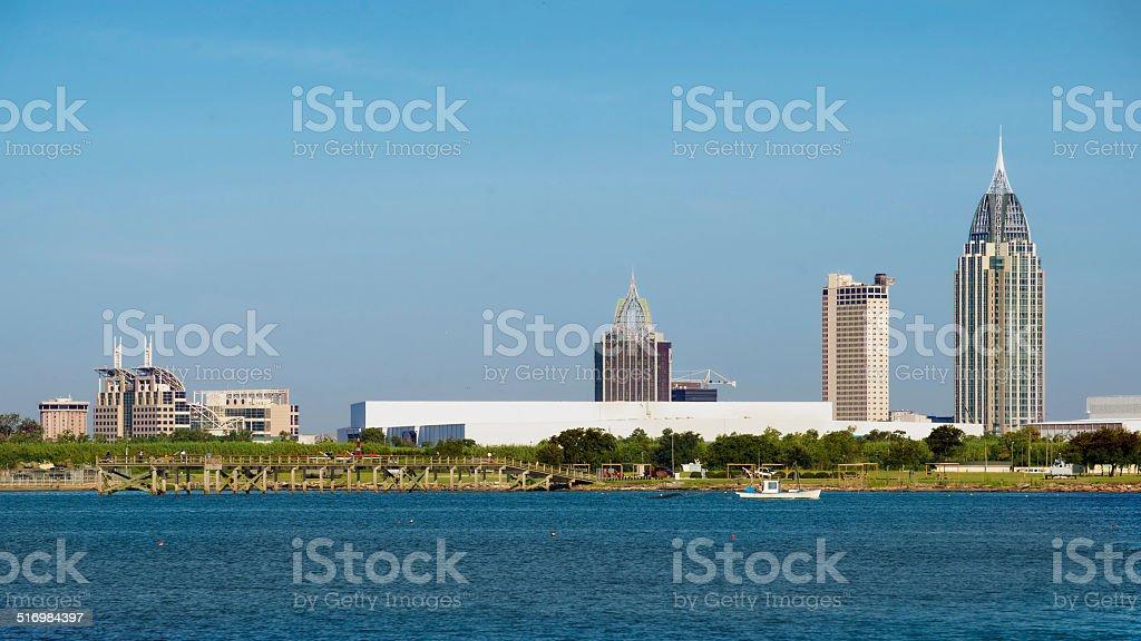 Mobile, Alabama, skyline stock photo