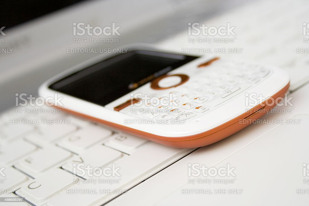 mobile business concept stock photo