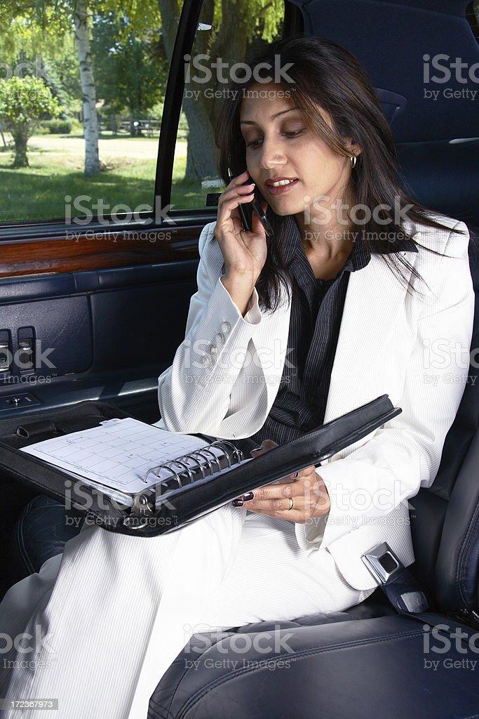 Mobile Businesswoman royalty-free stock photo