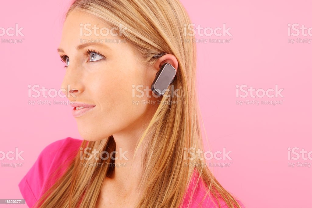 Mobile Chat royalty-free stock photo