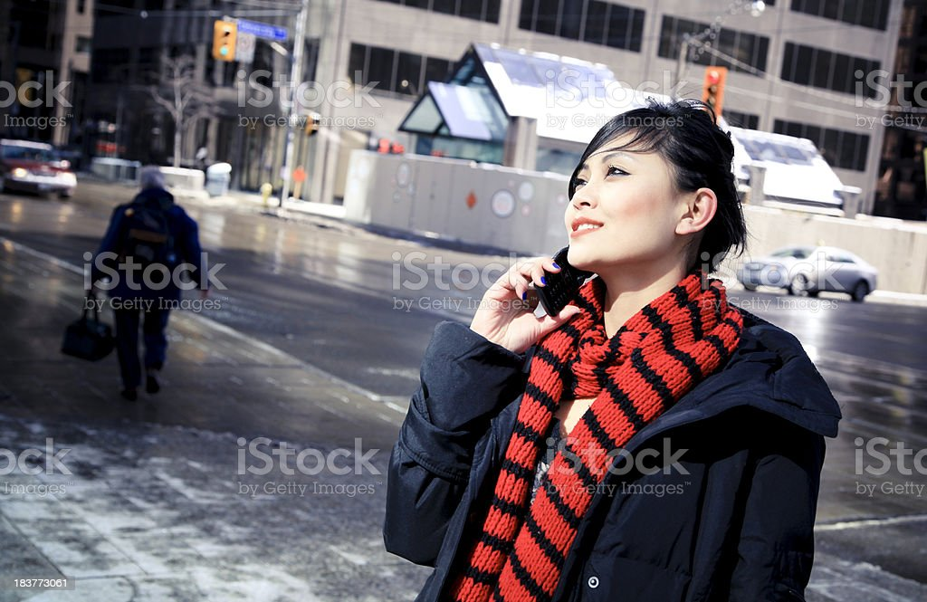 Mobile Communication royalty-free stock photo