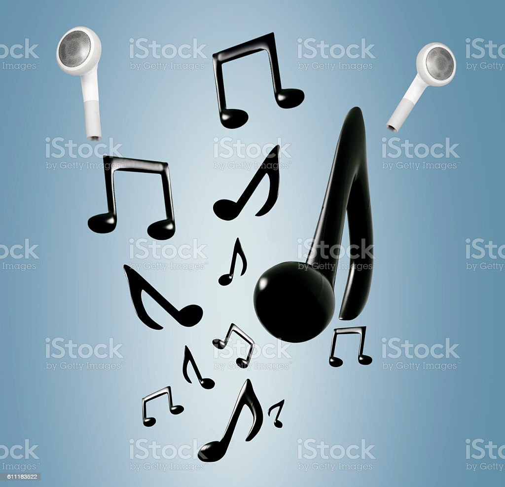 mobile cordless music stock photo