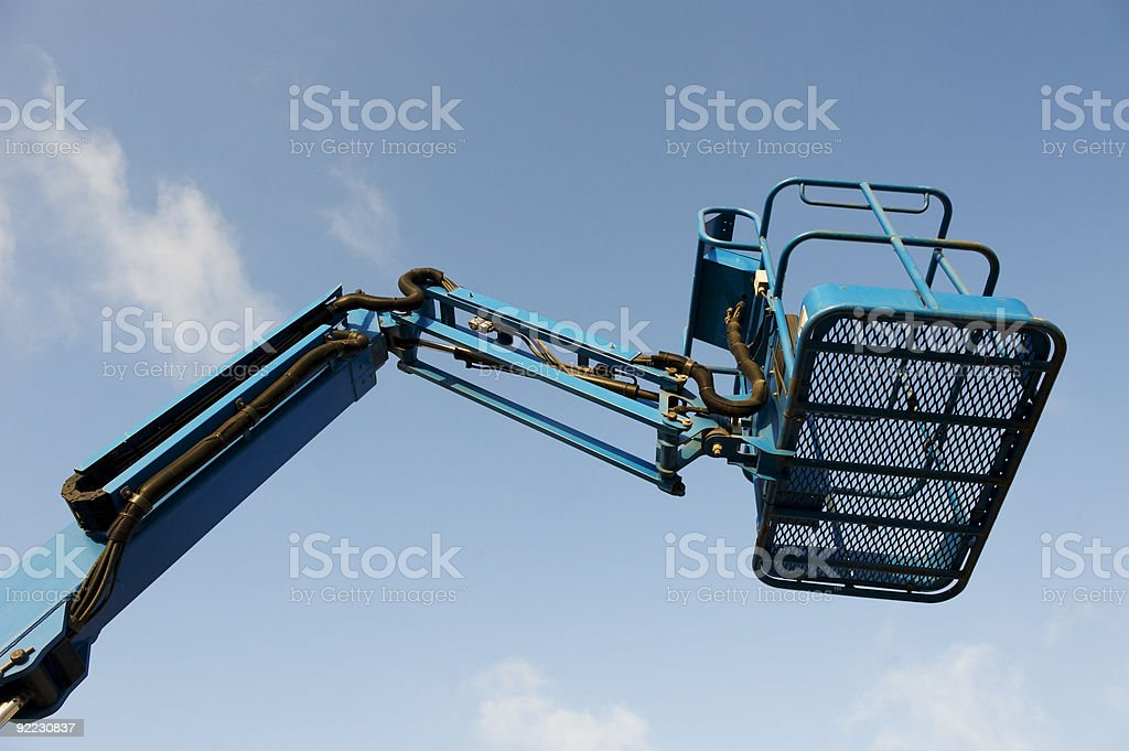 Mobile crane royalty-free stock photo