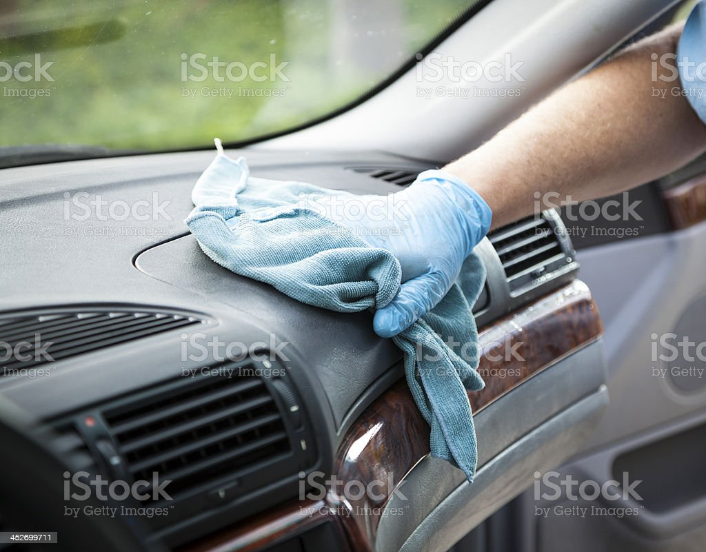 Mobile Detailing - Interior stock photo