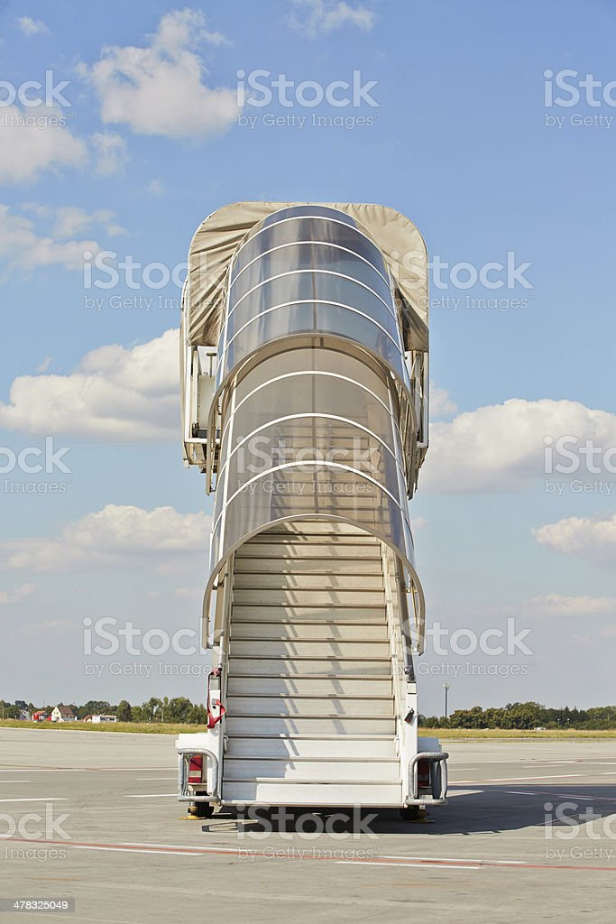 Mobile gangway royalty-free stock photo