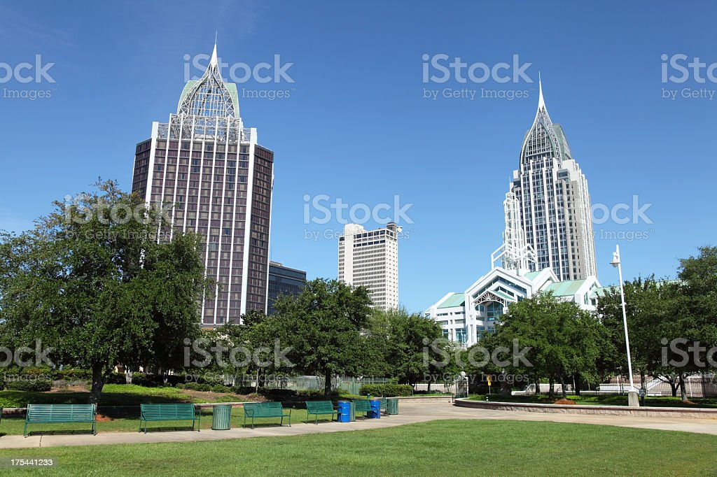 Mobile Georgia stock photo