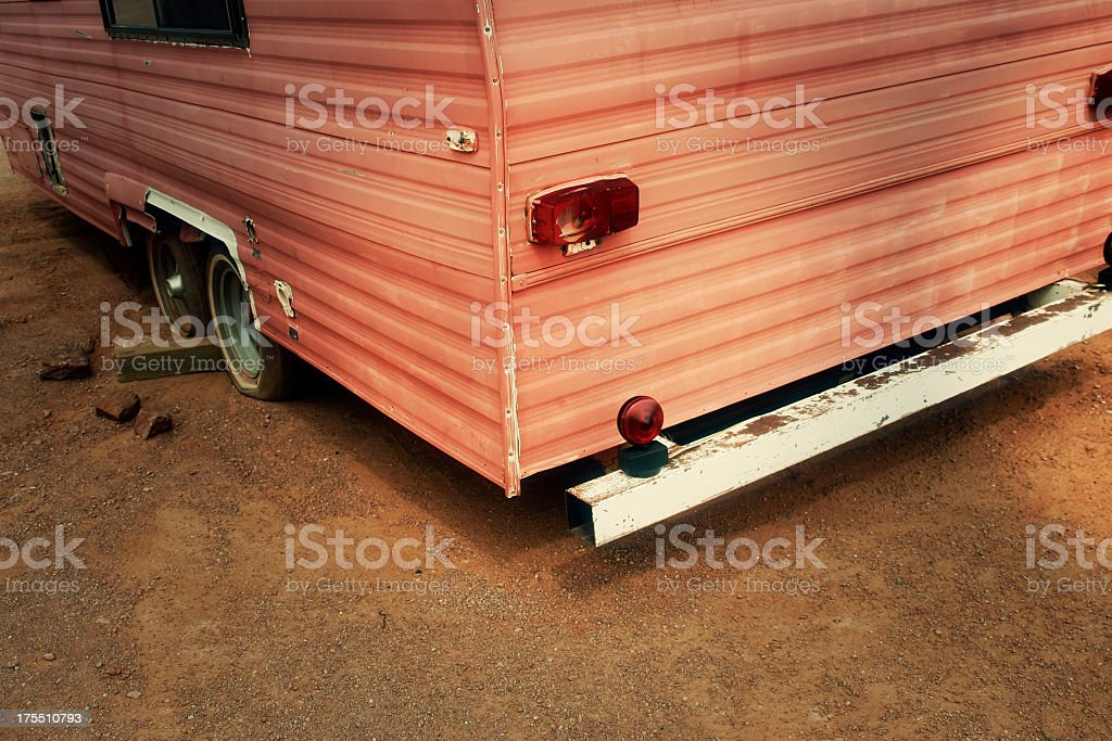 Mobile Home Detail royalty-free stock photo