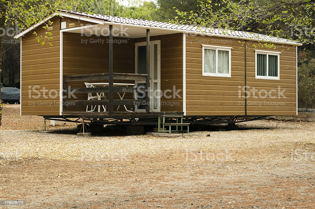 Mobile homes royalty-free stock photo