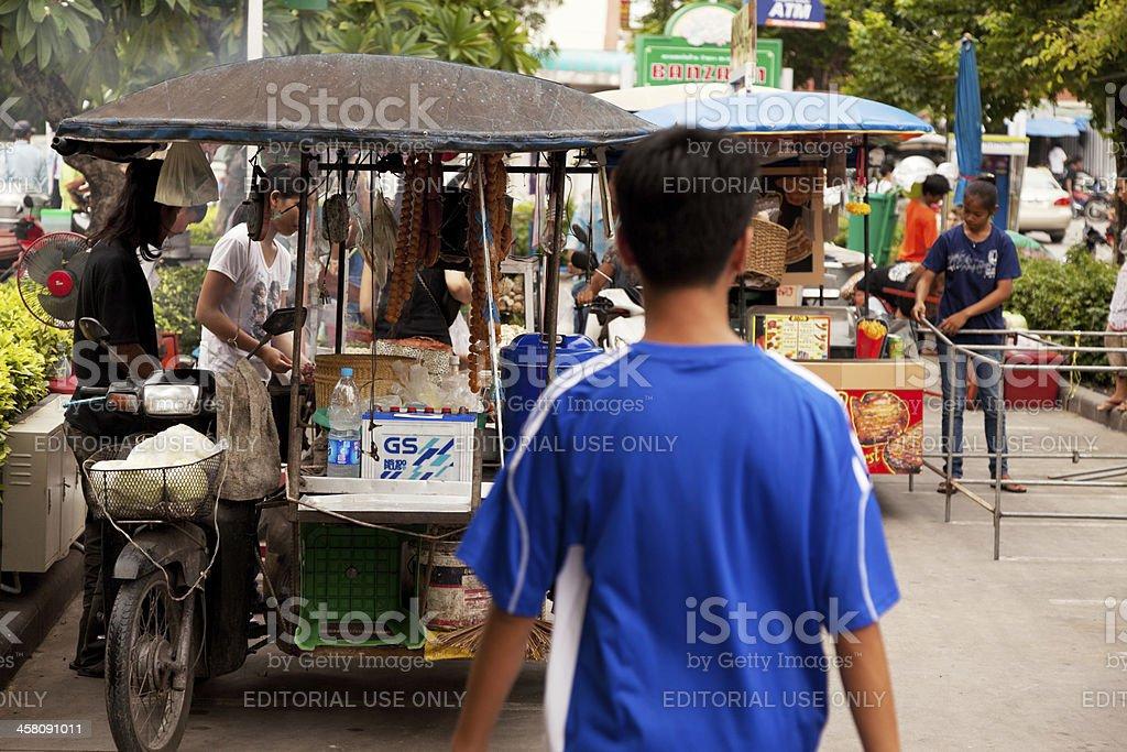 Mobile Kitchen royalty-free stock photo