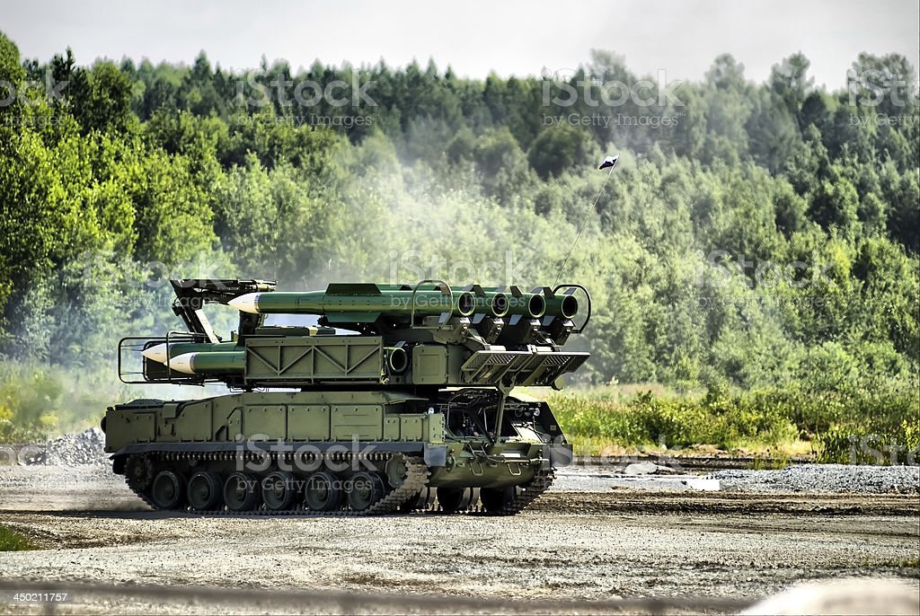 mobile missile launcher royalty-free stock photo